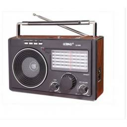 Rádio Am/Fm Retrô Bluetooth Pen Drive