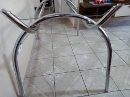 Mesa de cozinha sem vidro
