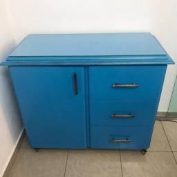 Balcão Azul Turquesa