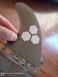Quilhas . prancha surf Future fibra carbono e fcs2