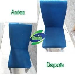 Lavagem a seco e higienização de cadeiras de jantar