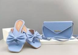 Promoção: Kit de bolsa e sandália por 49,99