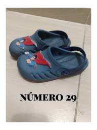Sapato infantil confortável