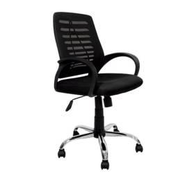 Cadeira Escritório Diretor Preta (Nova)