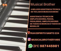 Assistencia Técnica em Teclados Musicais emBH