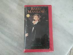 Fita VHS Barry Manilow-Live On Broadway