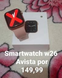 Smartwatch w26 aceitamos cartões