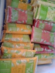 Polpas processadas e fruta congelada