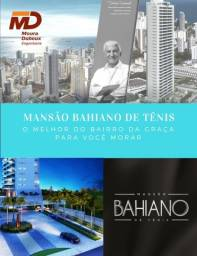 Apartamento 4 suítes, varanda gourmet, altíssimo padrão na Barra - Mansão Bahiano de Tênis