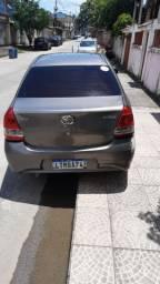 Toyota Etios x plus automático 45mil