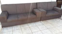 Sofá 2 e 3 lugares novo impecável sem QUALQUER tipo de uso