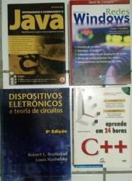 Vendo livros usados em perfeito estado