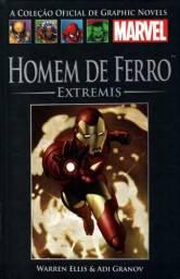 Homem de Ferro: Extremis - Salvat capa dura