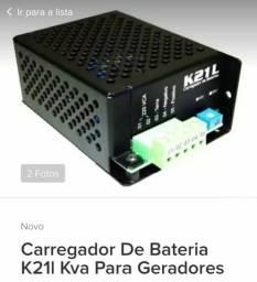 Carregador de bateria k21L Kva para geradores