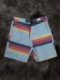 Shorts Jeans e Tecidos