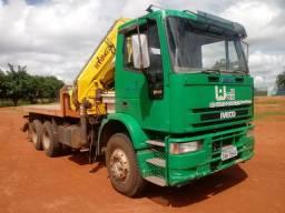 Vendo ou troco caminhão munck motor 1620 - 2000