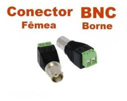 Título do anúncio: Conector/adaptador BNC Femea com borne (P/ CFTV)