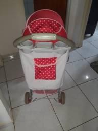 Carrinho de bebê *preço negociável chama no chat