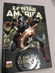 Hq Marvel Capitão América a ameaça Vermelha