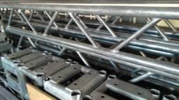 Estruturas Q30 galvanizadas