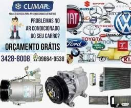Compressor para ar condicionado automotivo,veículo,Delphi,calsonic,Sanden,Denso