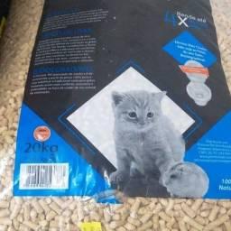 Granulado de madeira higienico roedores e gatos e demais animais