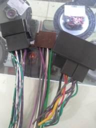 Conectores para instalação rádio