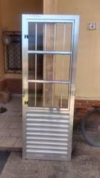 Porta Aluminio S/ Batente (so venda) Bertioga SP