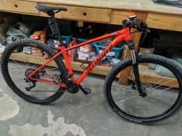 Bicicleta specialized tamanho17 aro 29