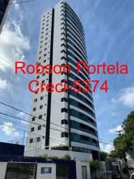 Apartamento em Tambauzinho 3 suítes, 105 metros, andar alto, todo projetado