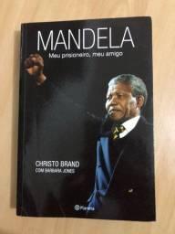 Livro Biografia Mandela - Meu prisioneiro, meu amigo