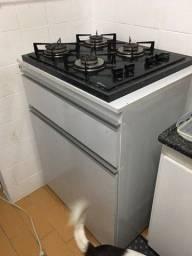 Vendo armário com fogão cooktop