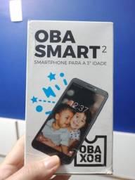 Celular Smartphone Oba Smart 2,celular feito para 3ª idade