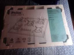 Cook top philco na caixa novo