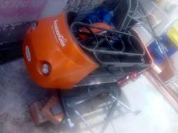 Vendo sidecar novinho para transporte da gás e água