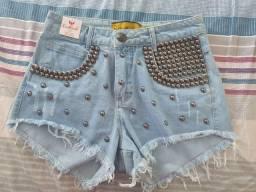 Vendo short jeans red rock número 36