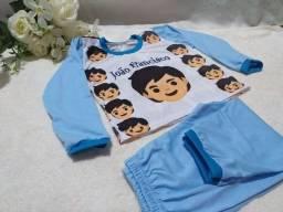 Pijamas infantis personalizados feitos por encomenda