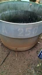 Caixa d'água 250 litros