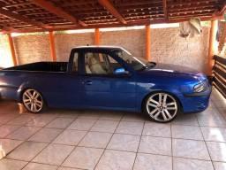 Saveiro G3 ano 2000 azul exclusivo