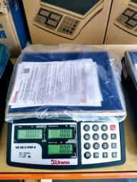 Balança Urano 20 Kg. Bateria / Nova na Caixa / Autorizada Inmetro
