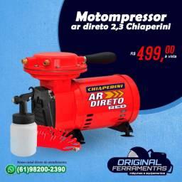Motocompressor de Ar Direto 2,3 Pés Chiaperini Red