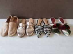 4 sapatos schutz e arezzo 34