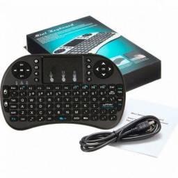 Mini Teclado sem Fio Bluetooth Wireless Controle Sem fio Tv Smart Tv Box
