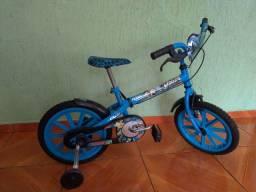 Bicicleta aro 16 Max Steel