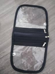 Bolsas para guardar máscaras com 3 compartimentos