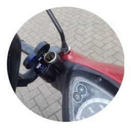 Acendedor elétrico para motocicleta