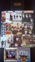 Box The Beatles E. P. Collection - 15 compactos mono capas originais - Importado novo