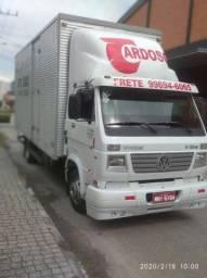 Voltando Itapiranga para Joinville vazio frete barato 40 cúbico  bau