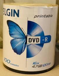 DVD-r Elgin 4,7gb 120min novo lacrado