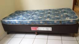 Cama box solteiro com colchão só 3 noites de uso. Motivo mudança
